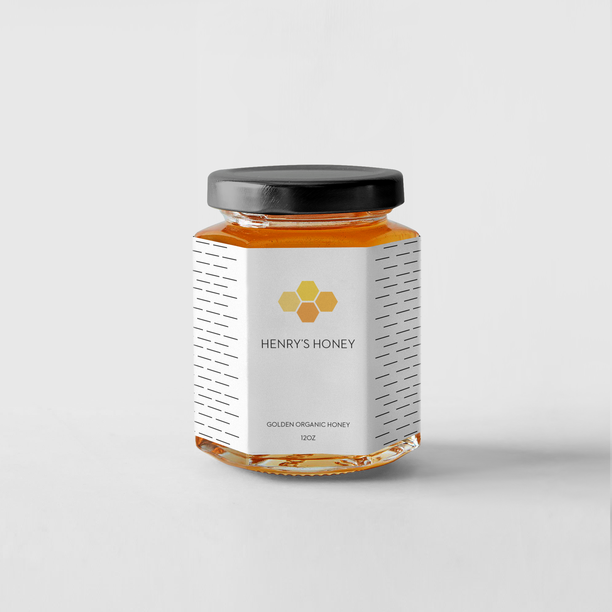 Henry\'s Honey Logo And Packaging By Samantha