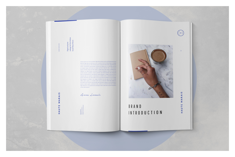 Marais Guidelines & Brand Sheet by Studio Standard $21 from Creative Market