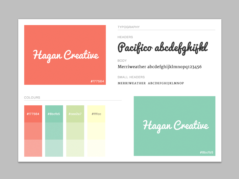 Briefbox — Designing a brand guide
