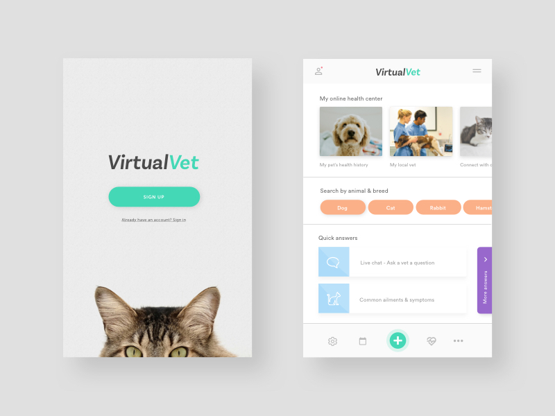 Virtual Vet by James Ewin