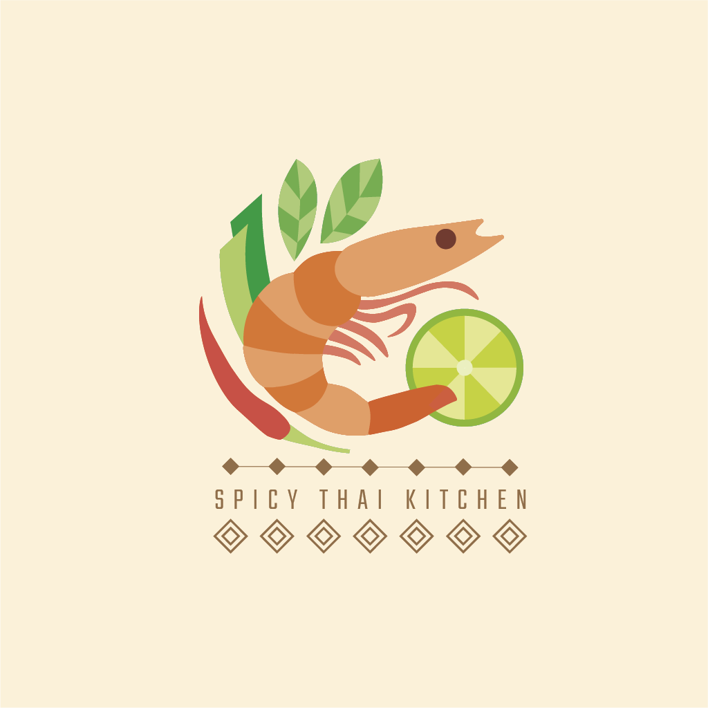 Spicy Thai logo by Estaire Alberti