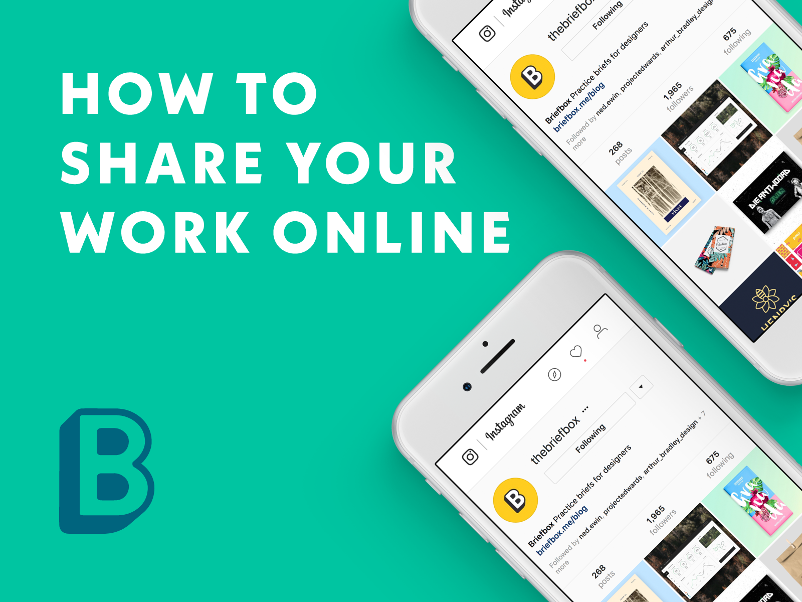 How to share your work online