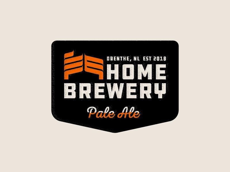 Home Brewery Badge by Jeroen Van Eerden