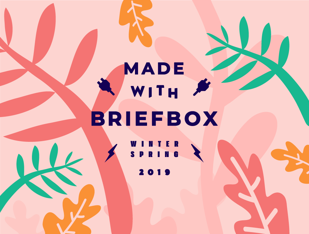 Made with Briefbox Winter Spring 19